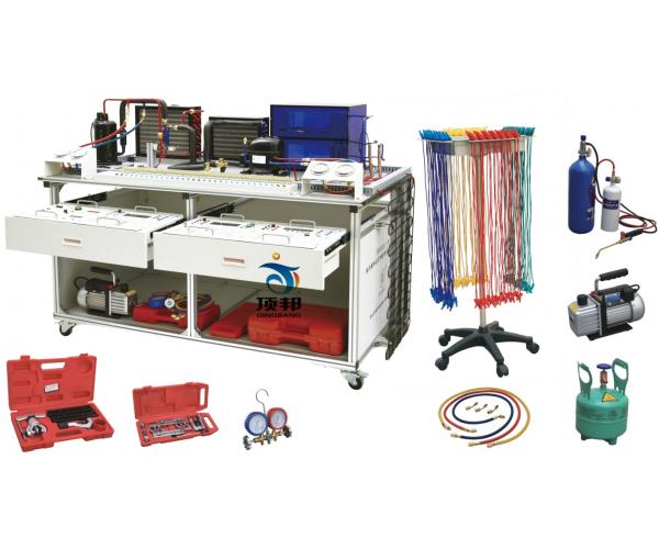 空调冰箱组装与调试实训考核装置(智能考核型)
