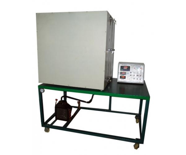 建筑材料热阻热流计法测量实验装置